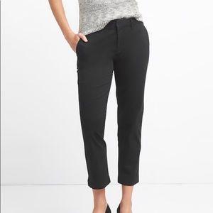 Gap Slim City Double Weave Crop Pants